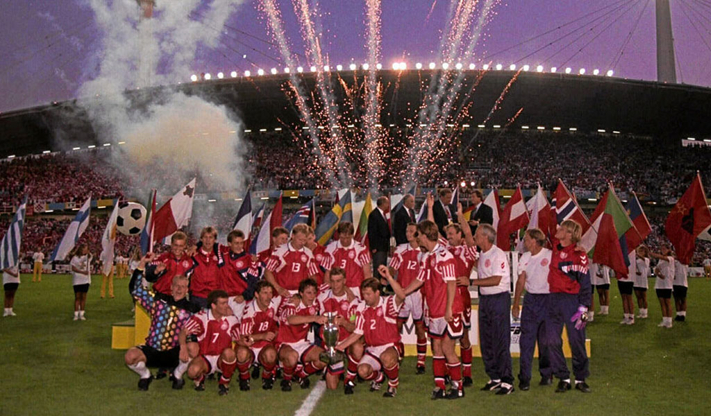 Dinamarca Euro 92